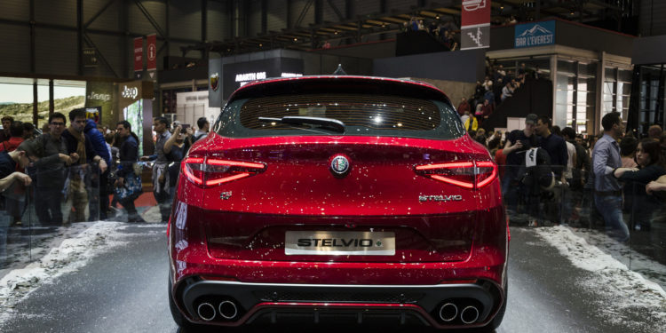 Looking Good At Show - Alfa Romeo Stelvio