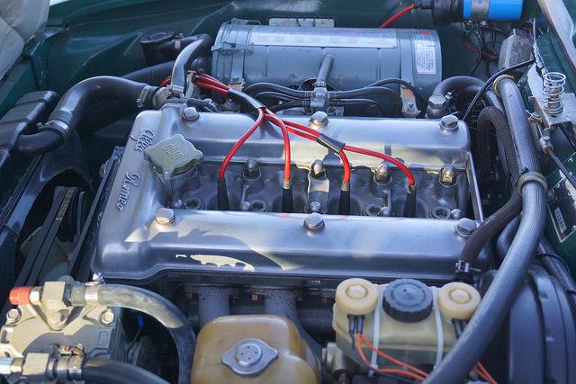 130 Ponies - Alfa Romeo 1974 GTV Engine