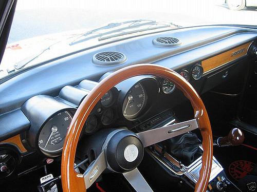 Lush Interior - Alfa Romeo 1974 GTV