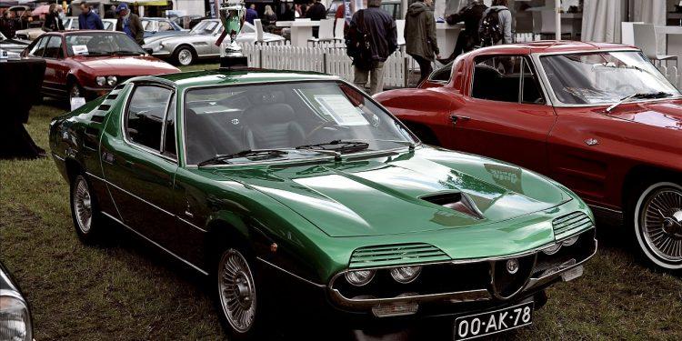 Green Alfa Romeo Montreal At Show